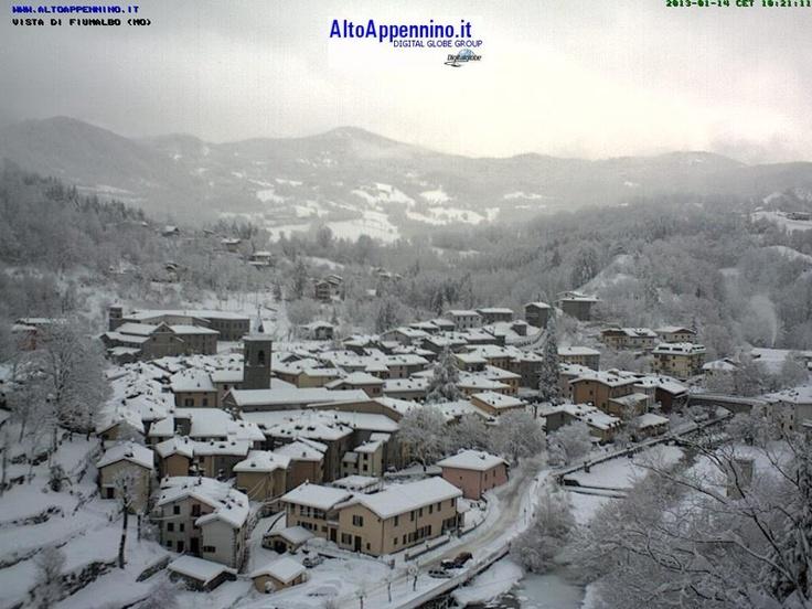 Neve a Fiumalbo (MO) sull'Appennino #neve #snow