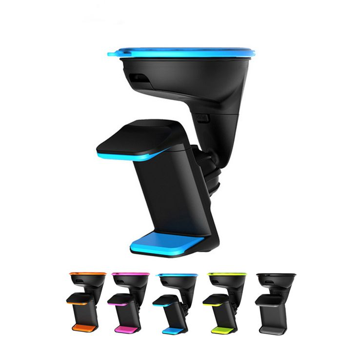 Double clip mobile phone holder for car universal cell phone mount holder stand for iphone 6S 7 Plus 3.5-6.0 inch Car DVR GPS