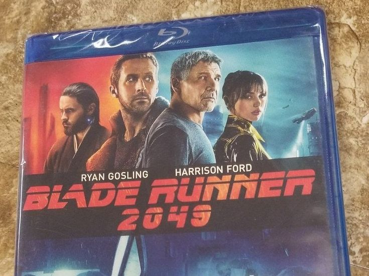 Blade Runner 2049 (Blu-ray Dvd Digital)