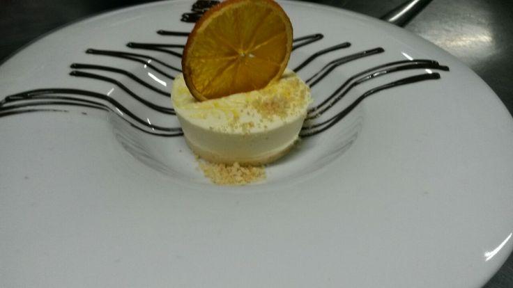 Orange Cheesecake  Image courtesy of Sam Cooper - Head Chef at Victoria Falls River Lodge
