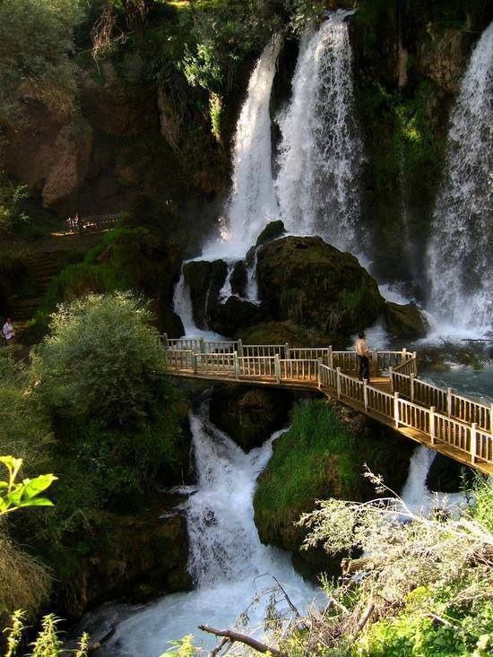 14 Attractive Travel Destinations Around the World - Waterfall, Sivas Province, Turkey