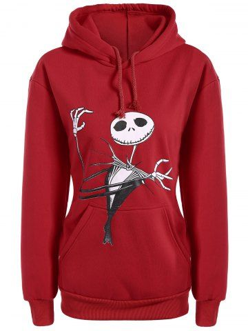 GET $50 NOW | Join RoseGal: Get YOUR $50 NOW!http://www.rosegal.com/plus-size-hoodies/plus-size-halloween-ghost-print-922469.html?seid=2275071rg922469