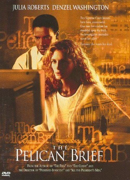 The Pelican Brief DVD, 1997 - Julia Roberts / Denzel Washington