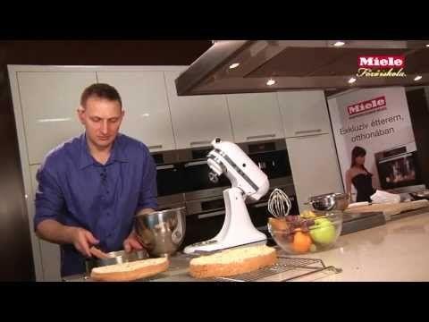 Diótorta -             Videó Receptek         -             Desszert - Torta        Miele Főzőiskola