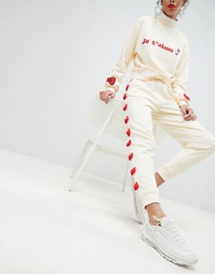 Hello Kitty x ASOS Bow Joggers With Peeping Motif