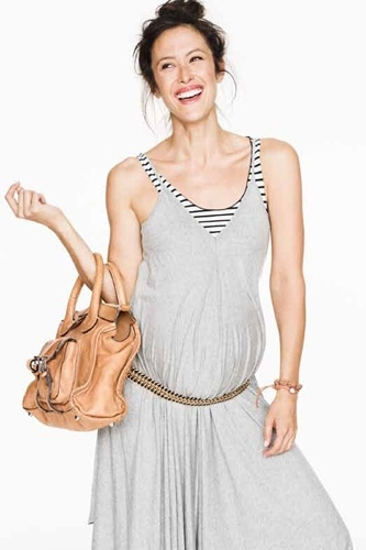 Casual pregnancy style... not sure about pulling this off, but cute!