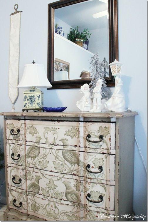 Необычное оформление мебели своими руками Лада Лукошкина в блоге на Uniqhand Uniqhand - сообщество любителей необычных вещей