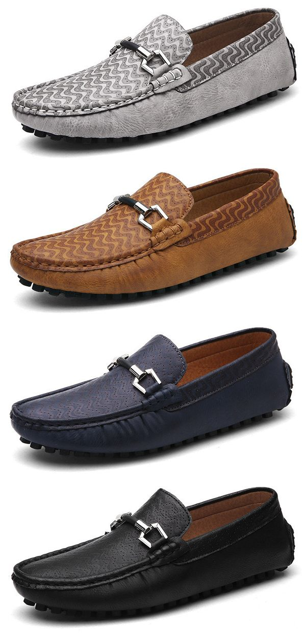 4a667f02be4 Men Slip Ons Leather Loafers shoes  work  colorful  simple