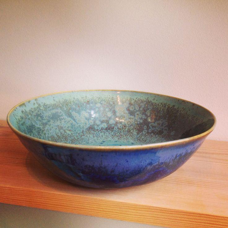 Large bowl deep blue