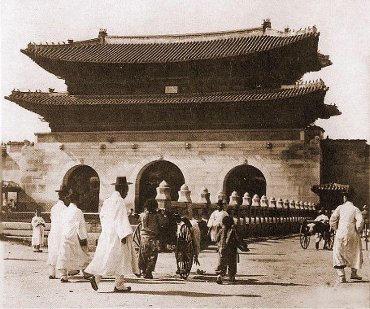 Gwanghwa-mun Gate Scene 경복궁(景福宮)의 어제와 오늘
