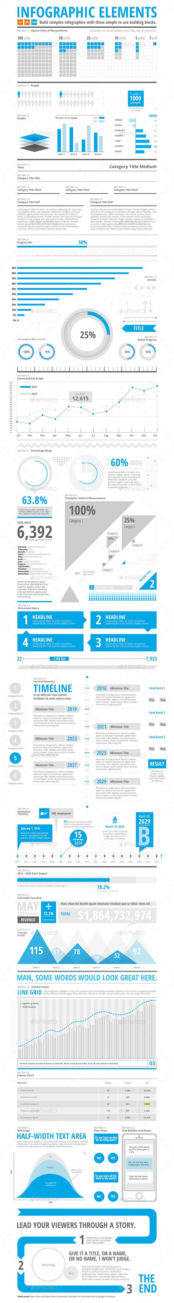 Infographic Builder Kit Templates PSD, Vector EPS, AI Illustrator. Download here: http://graphicriver.net/item/infographic-builder-kit/16367582?ref=ksioks