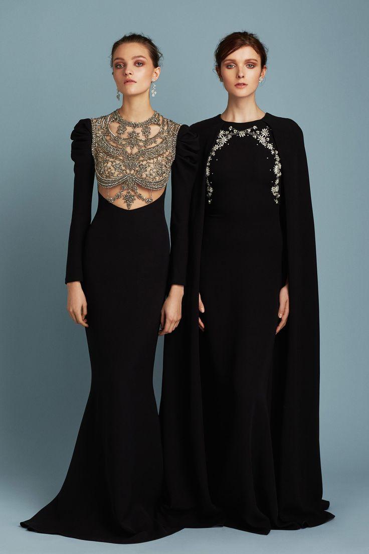 Reem Acra Pre-Fall 2017 Fashion Show