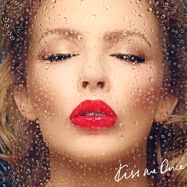 "FIRST LOOK: Kylie Minogue Reveals New Album Cover for ""Kiss Me Once"" 
