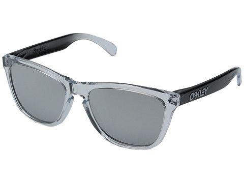 Oakley Frogskins Clear/Chrome Iridium - 6pm.com