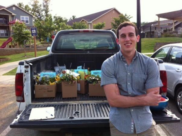 Ben, 20 ans, est étudiant en géographie - Université de Géorgie (UGA)
