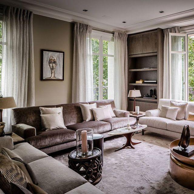 Meer dan 1000 idee n over luxe interieurontwerp op - Appartement interieur design ...
