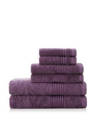 62% OFF Chortex Ultimate 6-Piece Towel Set, Grape