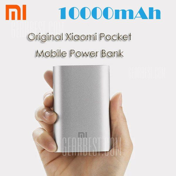 Xiaomi Pocket 10000mAh Power Bank, Special Price from Gearbest - Mobiles-Coupons