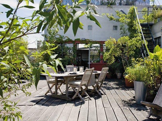 ❁ Home & Garden ❁: Un loft sur le toit
