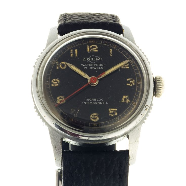 Small sized Enicar watch for ladies. Once it was waterproof, now simply classical