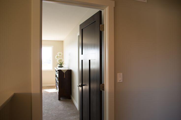 Interior Doors | Three Panel Poplar Doors, Prefinished In Our Portobello  Waterborne Uv Stain