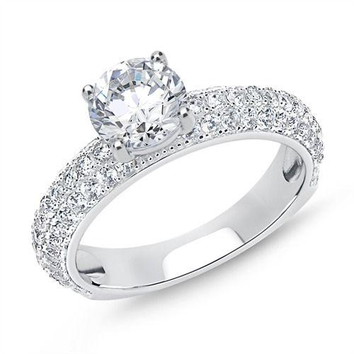 Partnerringe silber mit stein  44 besten V E R L O B U N G Bilder auf Pinterest | Verlobungsring ...