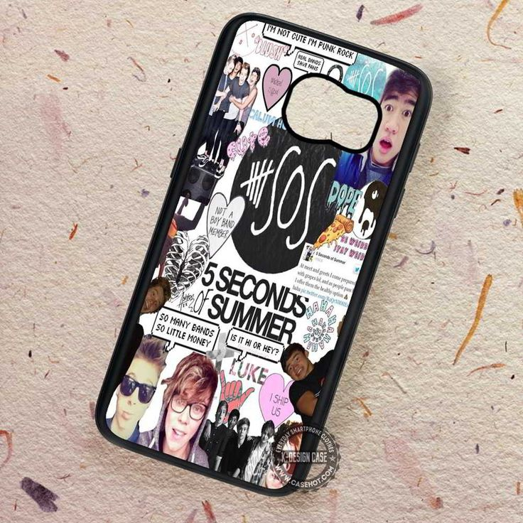Boards Collage 5sos - Samsung Galaxy S7 S6 S5 Note 7 Cases & Covers