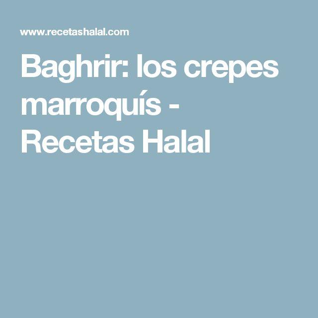 Baghrir: los crepes marroquís - Recetas Halal