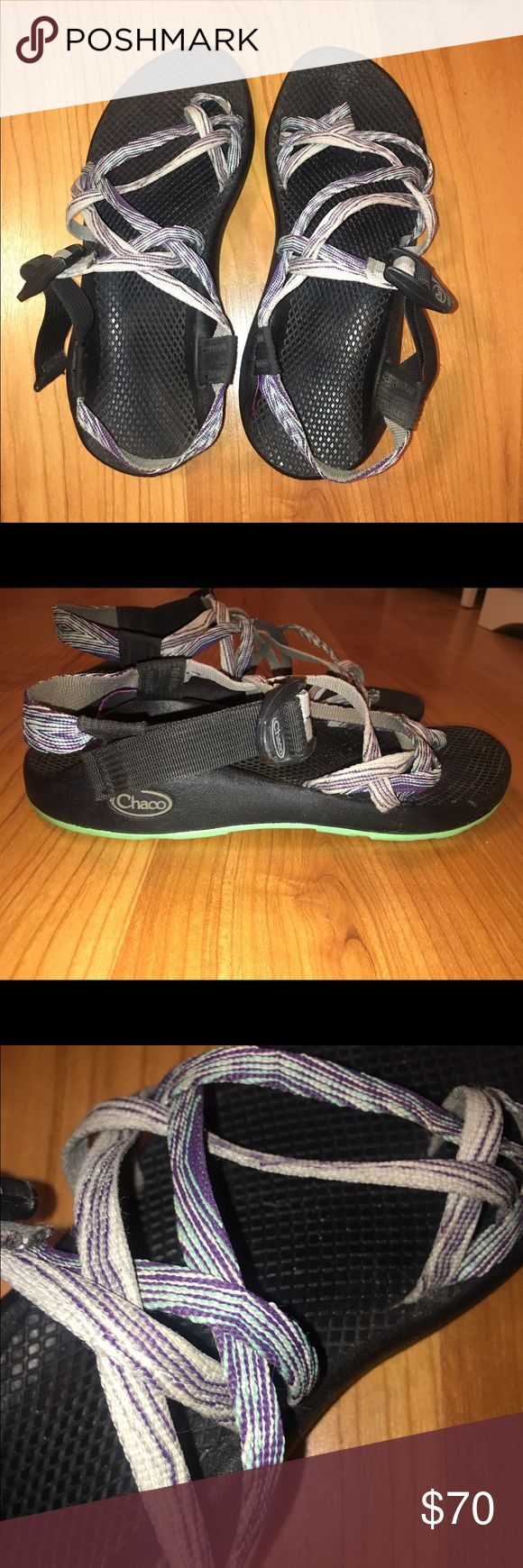 Chacos Gently worn chacos for sale!!! size 9 with very few wear and tear! perfect for those summer vacations! and leaves an awesome tan line on your feet! will clean good before shipping! Chacos Shoes Sandals