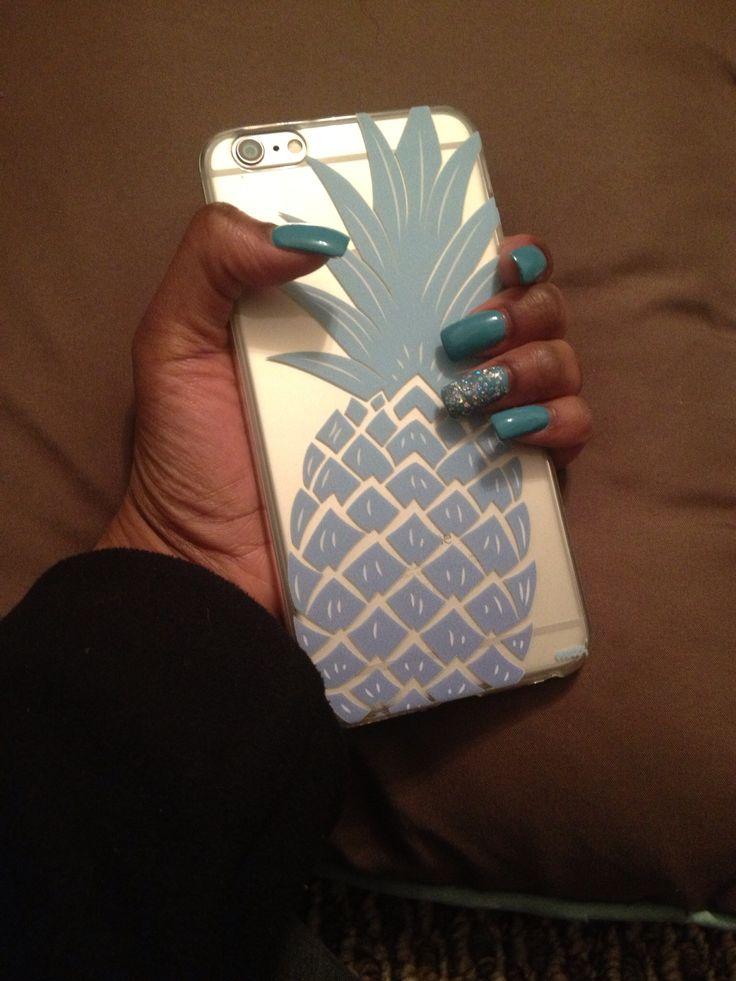 iPhone 6 Plus Case by shop-milkyway.com Blue Pineapple! Love It!!!