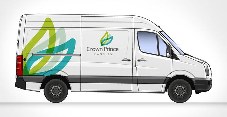 Vehicle Livery and Logo Design Crown Prince candles need a new corporate identity in the form of a logo that they could use both online and offline. The solution was three flames that make up the Mnemonic coupled with a contemporary typeface and colours. The end result was  pretty hot logo design that should stand the test of time.