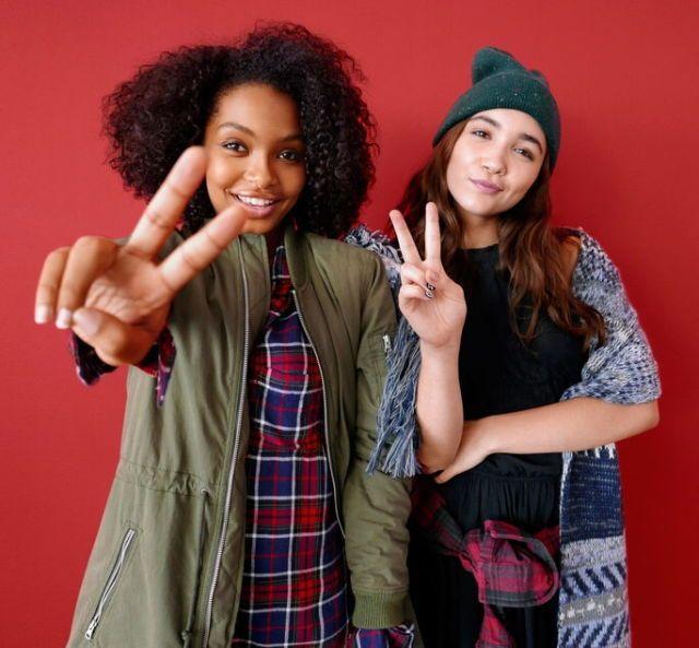 Rowan Blanchard and Yara
