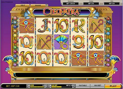 Play Cleopatra slots @ Gossip Bingo    www.gossipbingo.com