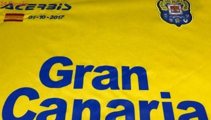 Las Palmas jugará contra el Barcelona con una bandera de España en su camiseta