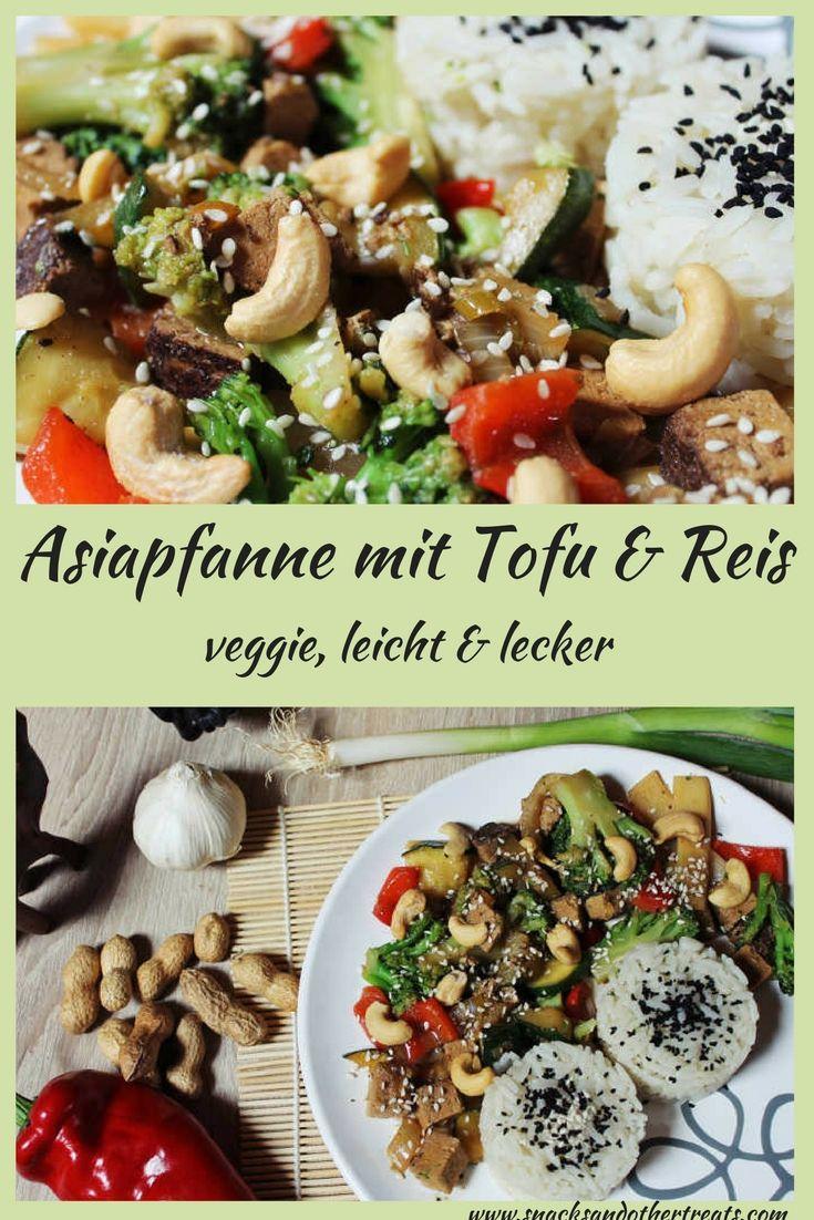 Vegetarisches Rezept: leckere Asiapfanne schnell und einfach zubereitet!