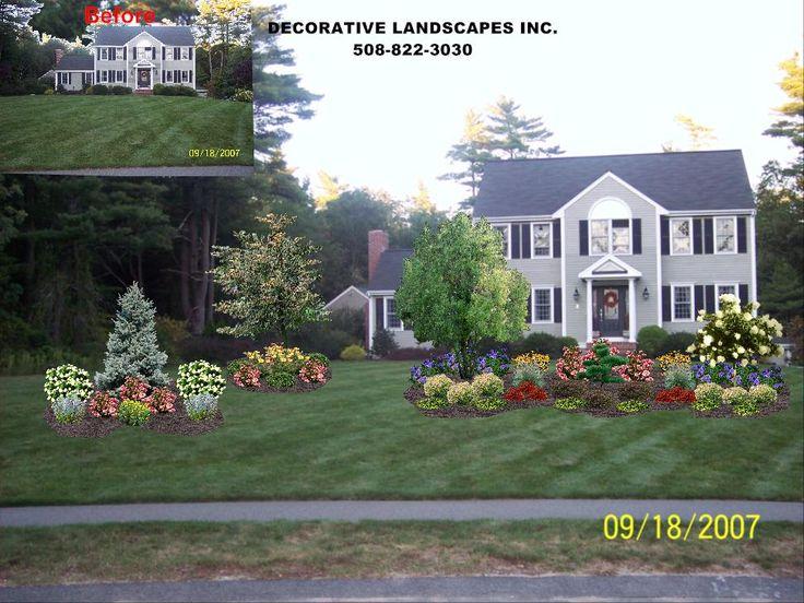 45 best images about Front of Home Landscape Designs on Pinterest