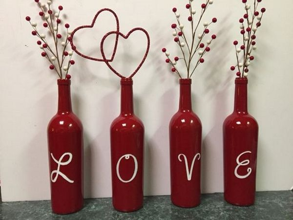 255 best images about projects to try on pinterest jars for Cool wine bottle ideas