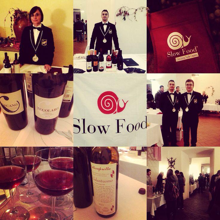 Presentation #Wine Guide 'Slow Wine' in Foligno #Umbria November 2014