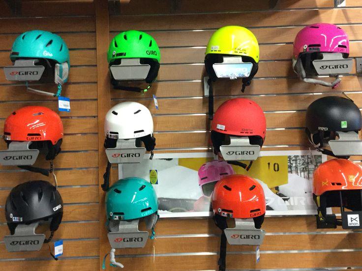 Giro helmets galore! Helmet