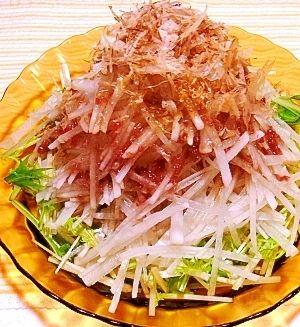 居酒屋風☆大根サラダ(梅ドレッシング) レシピ・作り方 by ☆メリッコ☆|楽天レシピ