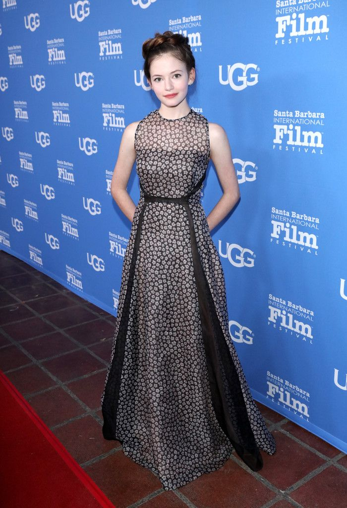 Fabulously Spotted: Mackenzie Foy Wearing Lela Rose - Opening Night Presentation of The Little Prince at the 2016 Santa Barbara International Film Festival - http://www.becauseiamfabulous.com/2016/02/09/fabulously-spotted-mackenzie-foy-wearing-lela-rose-opening-night-presentation-of-the-little-prince-at-the-2016-santa-barbara-international-film-festival/