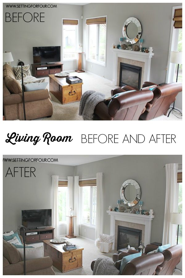 My #QuickandEasy Living Room Before  After Makeover Living Room