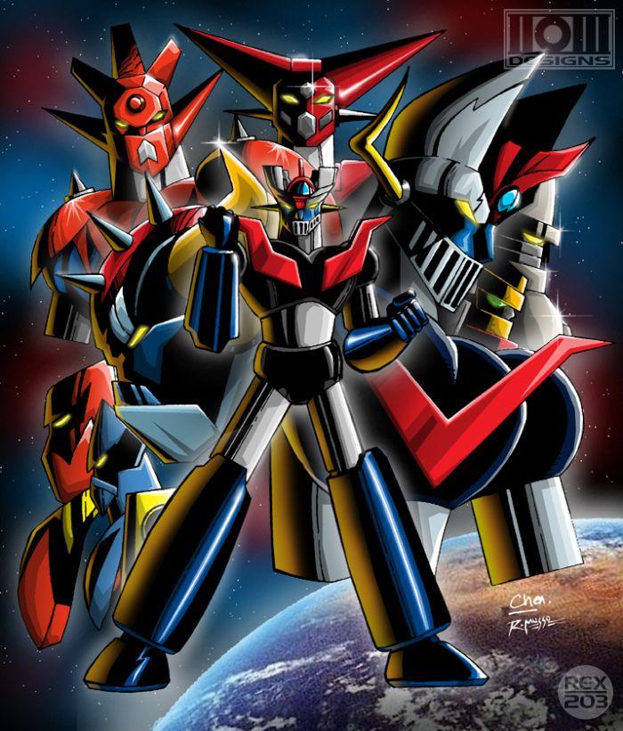 Anime Robot: Go Nagai's Super Robots