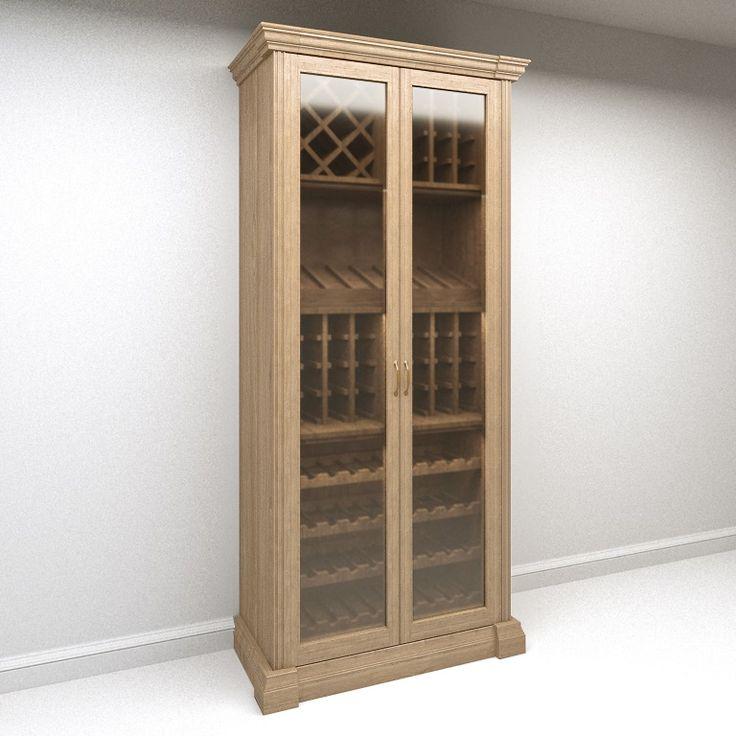 Распродажа!! Винный шкаф (для хранения вина) SHVKM 098 классика моцарт массив на заказ