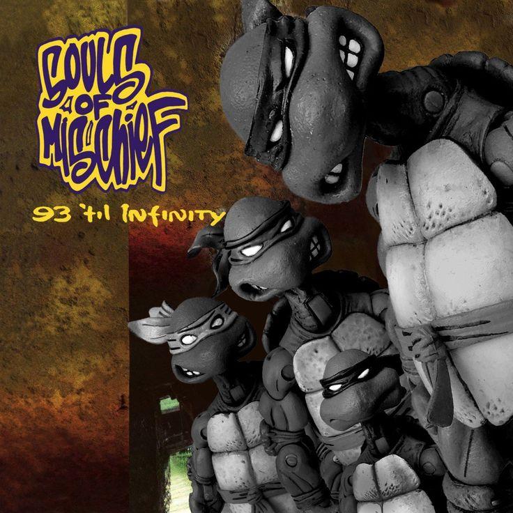 #soulsofmischief #93tilinfinity #aplus #opio #phesto #tajai #1993  Killer sounds from #backintheday  #ninjaturtleparody #albumparody  #debutalbum #albumcovers #necaturtles #necatmnt  #turtlepower #tmnt #ninjaturtles #oldscoolhiphop