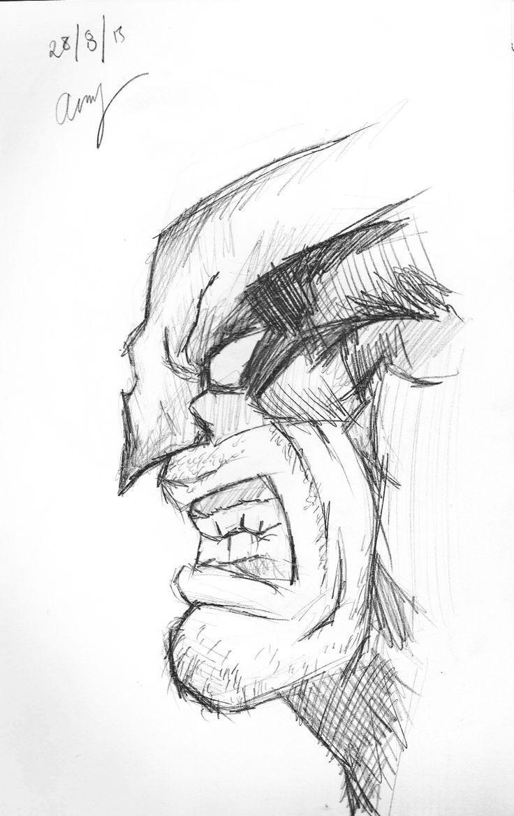 Wolverine - By Anthony Keutzer #Wolverine #Xmen #FanArt #Keutzer #Anthony #Sketch #FanArt #Pencil #Sketch #Rough