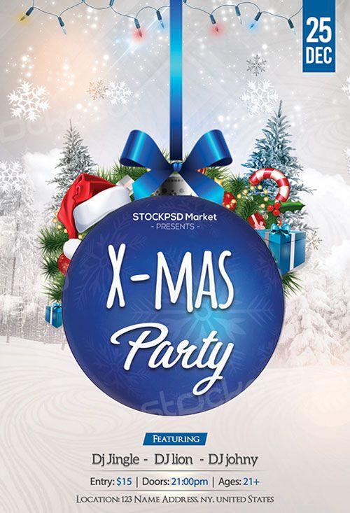 Blue Christmas Party Free Flyer Template - http://freepsdflyer.com/blue-christmas-party-free-flyer-template/ Enjoy downloading the Blue Christmas Party Free Flyer Template created by Stockpsd!  #Bells, #Christmas, #Club, #Jingle, #Nightclub, #Party, #Santa, #Tree, #XMas, #Xmas
