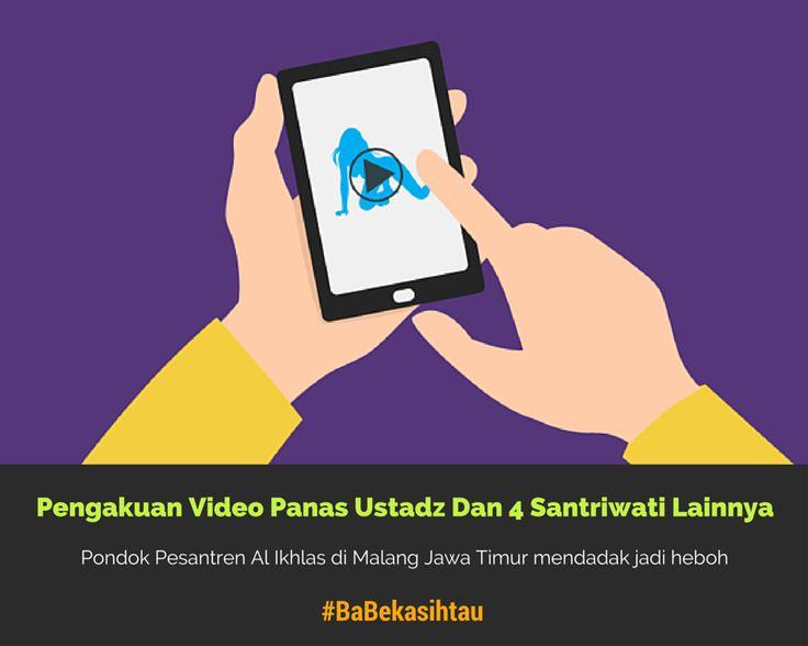 #BaBekasihtau Santriwati Ini Ngaku Bikin #Video Panas Dengan Ustadz Dan 3 Santriwati Lainnya https://app.babe.co.id/read/6364098/wow-santriwati-ngaku-bikin-video-panas-dengan-ustadz-dan-3-santriwati-lainnya