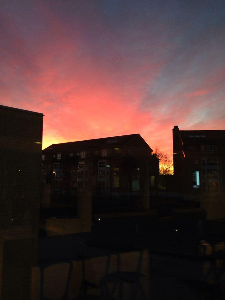 Sunrise in Oslo
