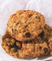 Recettes Québécoises.com - Biscuits à l'avoine, chocolat et pacanes